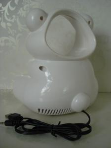 "China environmental protection Mini white USB bladeless Electric speaker safe fan 6"" 5V 2W on sale"