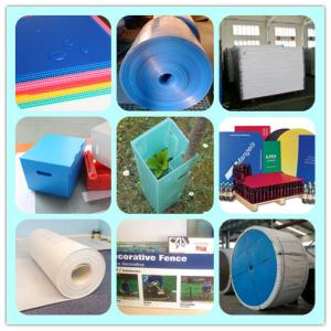 China Correx Corrugated plastic sheet  pp Coroplast Corflute on sale