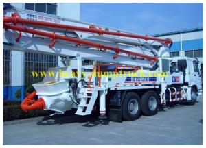 China 37m Boom mounted concrete pump truck SYG5260THB  SY5260THB 37B on sale