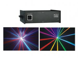 China Animation Laser Show DJ LED Laser Lights RGB 2W Patterns And Gradually Painting Effect on sale