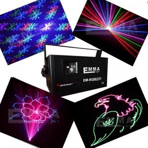 China 1w rgb animation +fireworks laser projector /dj laser lights for sale on sale