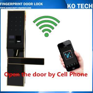 KO ZL901 Fingerprint Door Lock Controlled By Mobile App
