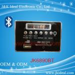 China JK6890BT   SD card usb aux fm bluetooth mp3 player module for amplifier wholesale