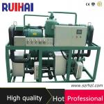 -75 degree Ultra Low Temperature Screw Type Cascade Refigeration Chiller