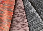 Melange Weft Knitted Fabric Yarn Dyed 90 Polyester 10 Spandex Jersey Fabric