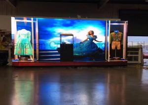 China Small Pixel Pitch HD LED Video Screens Advertising Indoor P4mm LED Video Wall Customized Size Digital Display on sale