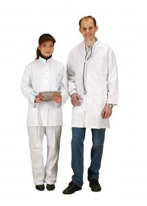 China Customized White Doctor Lab Coat , Multi Care Clinic Hospital Medical Doctor Uniform on sale