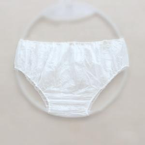 China OEM Disposable Biodegradable Underwear Womens Disposable Panties on sale