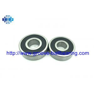 ABEC3 Precision Ball Bearings , Chrome Steel Single Row Grooved Ball Bearing