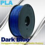 Filament bleu-foncé d'imprimante de PLA 3D avec 1KG/petit pain, bonne représentation de la galvanoplastie