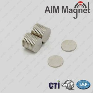 "China permanent disc Magnets 0.1"" x 1/32"" N35 on sale"