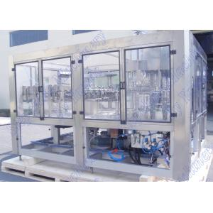 China 5.5 KW Power Apple Juice Filling Machine 95 Degree High Temperature Filling on sale
