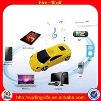 China 2014 new mobile mini speaker car,portable digital car speaker made in China on sale
