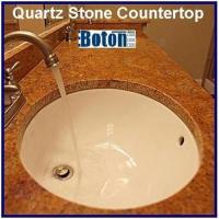 Artificial Quartz Stone Tile Countertop Vanitytop Basin Sink