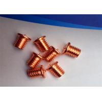 Capacitor Discharge Flanged Stud Welding Pins With Thread Or No Thread  Fastening