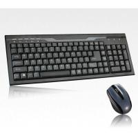 Ergonomic 2.4G Wireless Keyboard and Mouse Combo For Desktop Computer Spare / Parts
