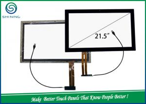 China USB Port Industrial Touch Screen Projected Capacitive Touch Screen 6H Surface Hardness on sale