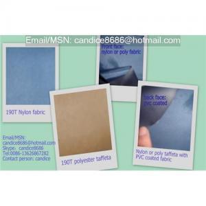 China Taffeta pvc coating fabric on sale