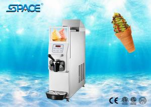 China 12 L/h Countertop Soft Serve Ice Cream Machine / Table Top Ice Cream Maker on sale