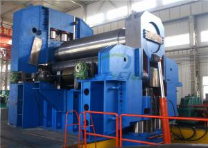 China 4 Roller Plate Bending Rolling Machine , 3 Roller Plate Bending Machine on sale