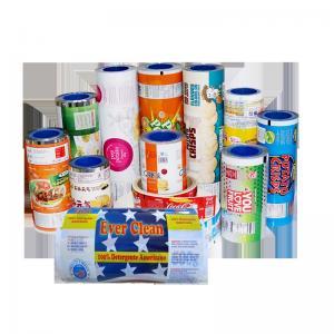 China Custom Aluminum Foil Laminated Polyester Film , Safe Food Grade Plastic Film Roll on sale