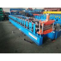 China 0.3-0.8 mm Chain Drive Metal Sheet Standing Seam Roof Manufacturing Roll Forming Machine on sale