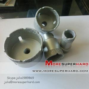 China Vacuum brazed diamond core drill bits,Vacuum brazed diamond tools on sale
