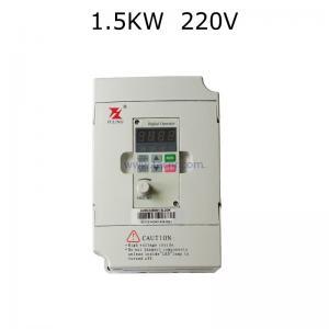 China VFD 1.5KW 220V inverter motor for 0.8KW 1.5KW spindle motor on sale
