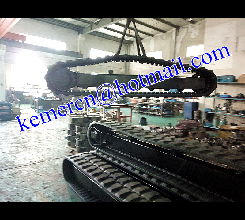 rubber crawler undercarriage assembly (kemercn@hotmail.com)