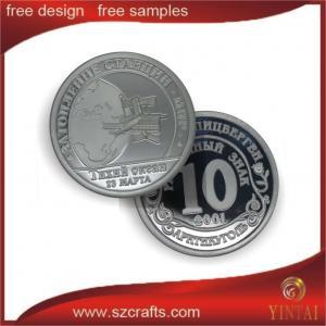 China 1 troy oz. silver knights templar coin silver/ gold souvenir metal coin on sale