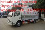 as aves domésticas hidráulicas quentes do dongfeng 12m3 da venda 2017s alimentam o caminhão, caminhão exploração-orientado o melhor preço da alimentação das aves domésticas da venda da fábrica