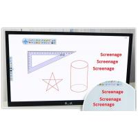 Multi touch screen interactive LCD whiteboard , Media Player Kiosk