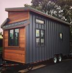 Luxury Light Gauge Cider Box Prefabricated Tiny House With American Standard
