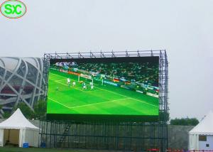 China P6 Outdoor giant Baseball Stadium LED Display 5 Years Warranty , led tv display on sale