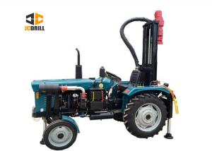 China 200m Tractor Mounted Water Well Drilling Rig 1.5m Drill Rod Customized Color on sale