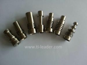 China Gr2 High Quality Domeless Titanium Nail for Smoking on sale
