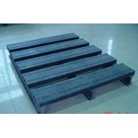 Environment Friendly Wood Plastic Composite Pallet Dark Grey and Single Faced