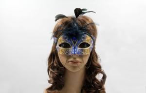 China Women Unique Veil Mask 6 For Theme Parties / Venetian Eye Masks on sale