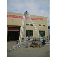 China Performance Aluminum Spigot Truss Line Array Stands 3mm Thickness on sale