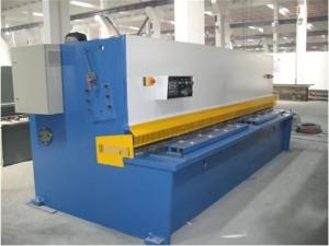 China Plate Sheet Metal CNC Swing Hydraulic Shearing Machines Bosch-Rexroth / Siemens Motor on sale
