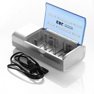China LCD Super Quick Rechargeable Battery Charger Discharger for C D 9V Batteries on sale
