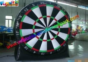 China Inflatable Sports Games Air Shooting /  Target Inflatable Dart Board With PVC on sale