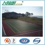 All Weather Sport Court Surface / Basketball Court Painting Playing Surface SGS