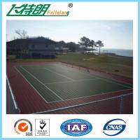 China All Weather Sport Court Surface / Basketball Court Painting Playing Surface SGS on sale