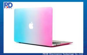China Apple Retina Macbook Laptop Case / Classic Rainbow Hard Shell Cover on sale