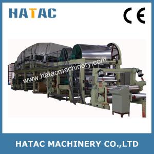 China High Speed Carbonless Paper Coating Machine,High Production NCR Paper Coating Machinery,Thermal Paper Slitter Rewinder on sale