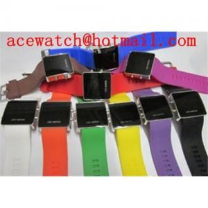 China Promotional gift Led silicone bracelet wrist watch 2011 new on sale