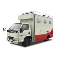 Customized JMC Mobile Cooking Trucks , Street Food Truck For Dessert / Cafes / Boissons