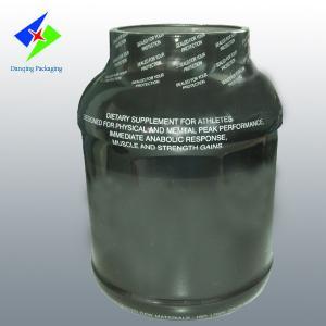 China Plastique adapté aux besoins du client PETG, soudant à chaud des douilles de rétrécissement de PVC, labels de bouteille d'enveloppe de rétrécissement on sale