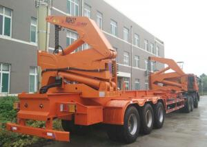 China CIMC 40ft side loader trailer container sideloader trailer with tri axles for sale on sale